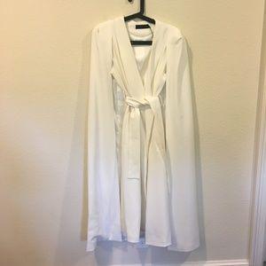 Lavish Alice Jackets & Coats - NWT Lavish Alice white jacket cape